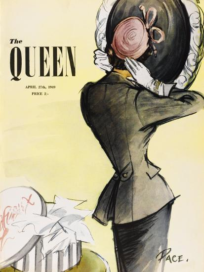 The Queen, April 1949-The Vintage Collection-Giclee Print