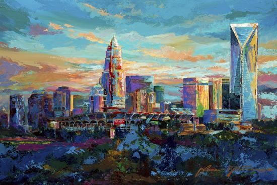 The Queen City Charlotte North Carolina-Jace D. McTier-Giclee Print