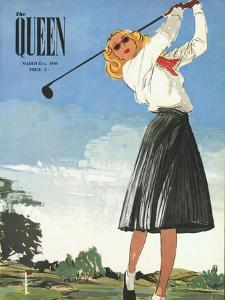 The Queen, Golf Womens Magazine, UK, 1940
