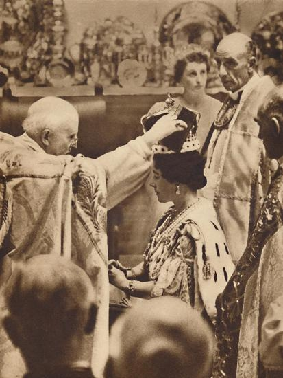 'The Queen is Crowned', May 12 1937-Unknown-Photographic Print