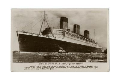 The Queen Mary--Giclee Print