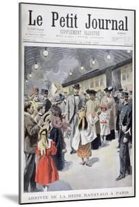 The Queen of Madagascar Ranavalo Arrives in Paris, 1901