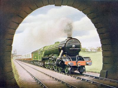The 'Queen of Scots' of the North Eastern Railway, Illustration from 'The Wonder Book of…-English School-Giclee Print