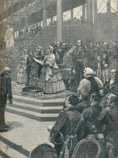 'The Queen Opening The Crystal Palace', 1906-Unknown-Giclee Print