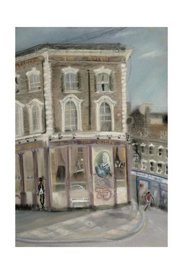 'The Queen' Pub, Bellefields Road-Sophia Elliot-Giclee Print