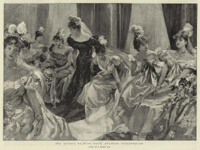 The Queen's Drawing-Room, Awaiting Presentation--Giclee Print