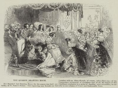 The Queen's Drawing Room--Giclee Print