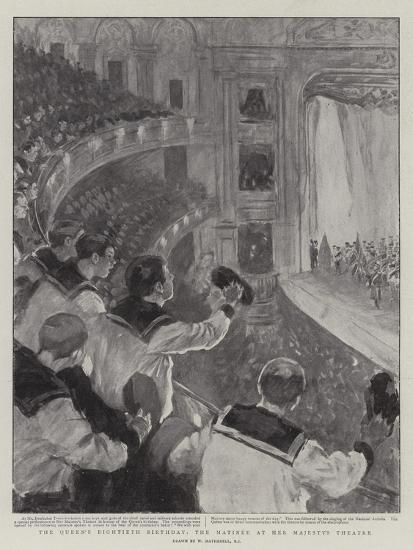 The Queen's Eightieth Birthday, the Matinee at Her Majesty's Theatre-William Hatherell-Giclee Print