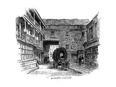 The Queen's Head Inn, Southwark, London, 1887--Giclee Print