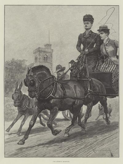 The Queen's Highway-Richard Caton Woodville II-Giclee Print