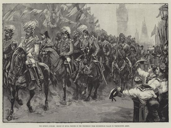 The Queen's Jubilee-William Heysham Overend-Giclee Print