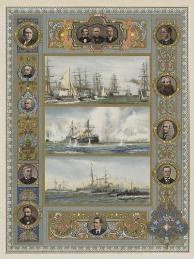 The Queen's Jubilee-William Lionel Wyllie-Giclee Print