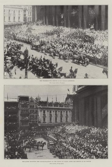 The Queen's Jubilee--Giclee Print