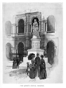 The Queen's Statue, Brisbane, Australia, 1886