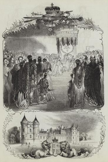 The Queen's Tour--Giclee Print