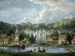 The Queen's Village at the Petit Trianon, Versailles, France