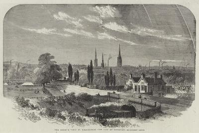 The Queen's Visit to Birmingham, the City of Coventry-Samuel Read-Giclee Print