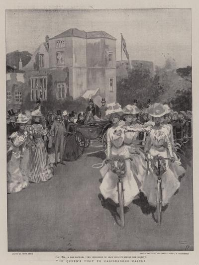 The Queen's Visit to Carisbrooke Castle-Frank Craig-Giclee Print