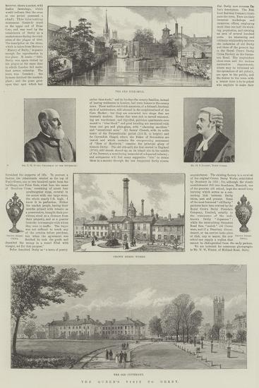 The Queen's Visit to Derby- Warry-Giclee Print