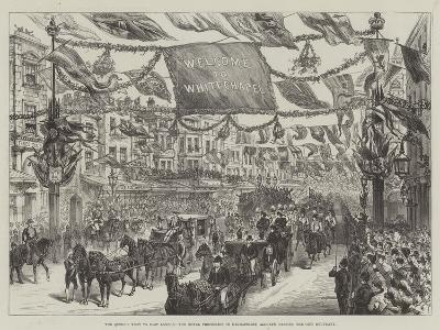 The Queen's Visit to East London--Giclee Print