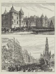 The Queen's Visit to Edinburgh