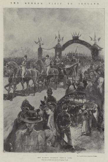 The Queen's Visit to Ireland-Henry Charles Seppings Wright-Giclee Print