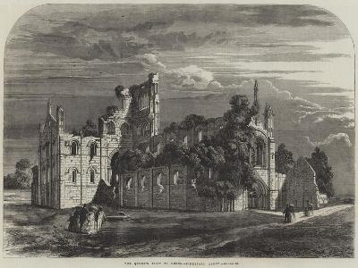 The Queen's Visit to Leeds, Kirkstall Abbey--Giclee Print
