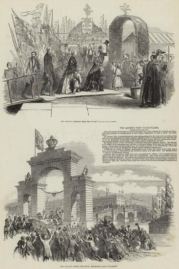 The Queen's Visit to Scotland--Giclee Print