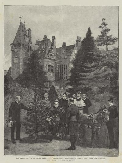 The Queen's Visit to the Empress Frederick at Friedrichshof-Melton Prior-Giclee Print