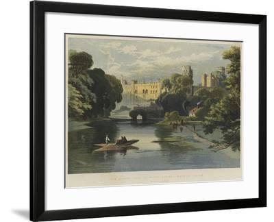 The Queen's Visit to Warwickshire, Warwick Castle-Richard Principal Leitch-Framed Giclee Print
