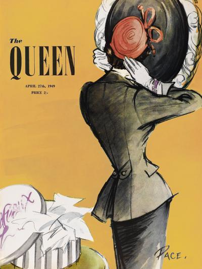 The Queen - Saffron-The Vintage Collection-Giclee Print
