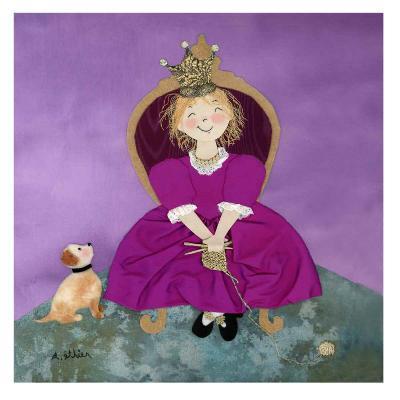 The Queen-Diane Ethier-Art Print