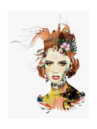 The Queen-Giulio Iurissevich-Art Print