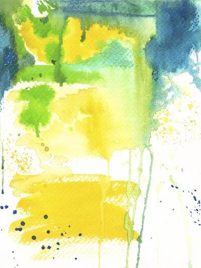 The Quiet Fight - Watercolor Abstract-Jennifer McCully-Giclee Print