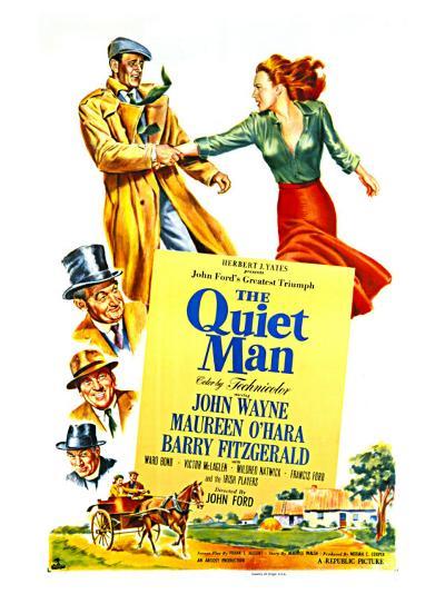 The Quiet Man, 1952--Art Print