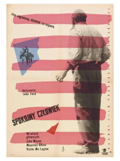 The Quiet Man, Polish Movie Poster, 1952--Art Print