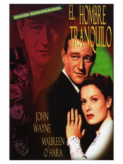 The Quiet Man, Spanish Movie Poster, 1952--Art Print