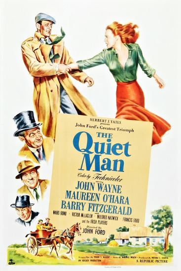The Quiet Man--Premium Giclee Print