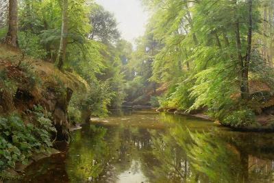 The Quiet River, 1913-Peder Mork Monsted-Giclee Print