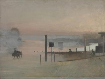 The Quiet River: the Thames at Chiswick-Victor Pasmore-Giclee Print