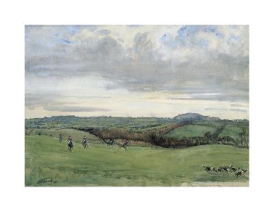 The Quorn, Coplow From Quemby-Lionel Edwards-Premium Giclee Print