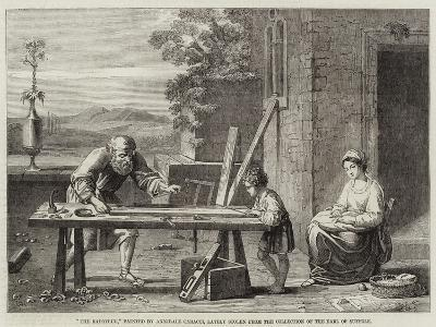 The Raboteur-Annibale Carracci-Giclee Print