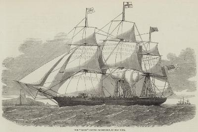 The Racer Clipper Packet-Ship, of New York--Giclee Print