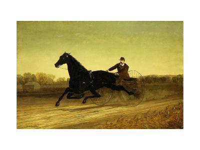 The Racing Sulky-Nicholas Winfield Leighton-Giclee Print