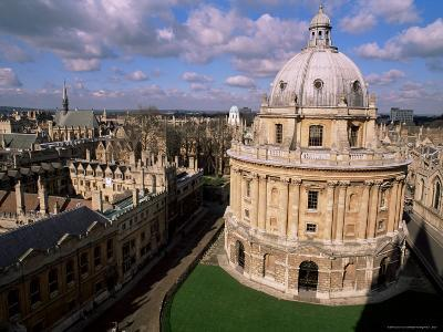 The Radcliffe Camera, Oxford, Oxfordshire, England, United Kingdom-Duncan Maxwell-Photographic Print