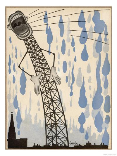 The Radio's Lies are Enough to Make the Heavens Weep!--Giclee Print