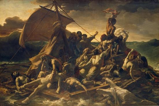 The Raft of the Medusa, 1818-19-Th?odore G?ricault-Giclee Print