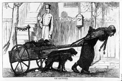 The Rag Picker, Pub. 1870--Giclee Print
