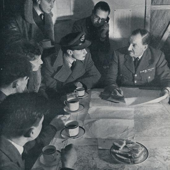 'The raid is over, but the crew's task is not yet finished', 1941-Unknown-Photographic Print
