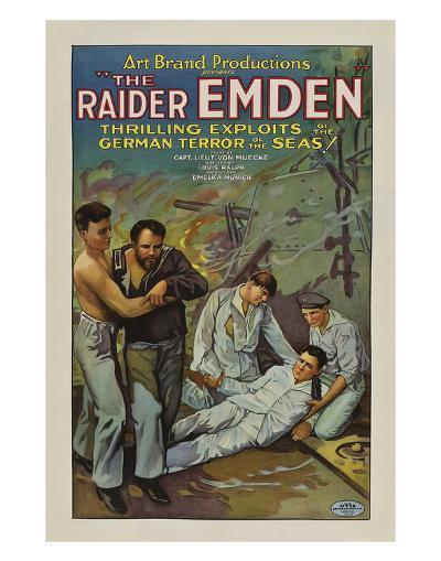 The Raider Emden - 1928--Giclee Print